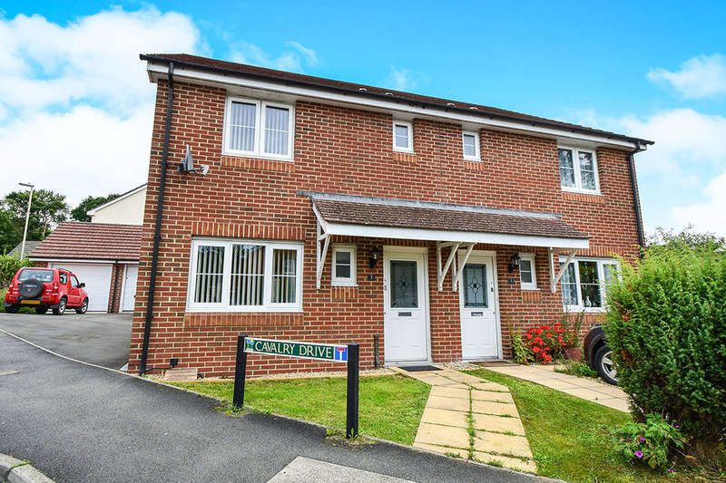 3 Bedrooms Semi Detached House for sale in Cavalry Drive, Heathfield, Newton Abbot, TQ12
