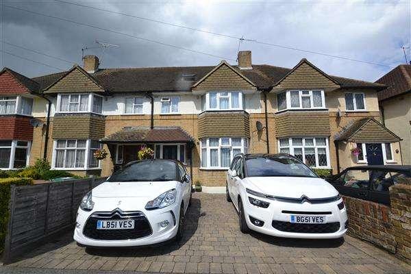 4 Bedrooms Terraced House for sale in Heathcroft Avenue, Sunbury