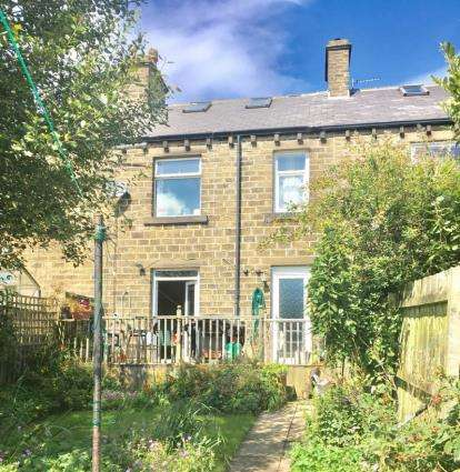 3 Bedrooms Terraced House for sale in Slaithwaite Road, Meltham, Holmfirth, West Yorkshire