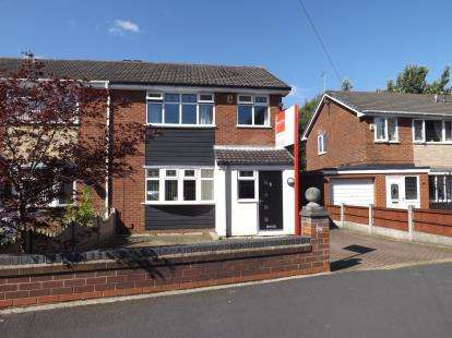 3 Bedrooms Semi Detached House for sale in Hulme Road, Leigh, Greater Manchester