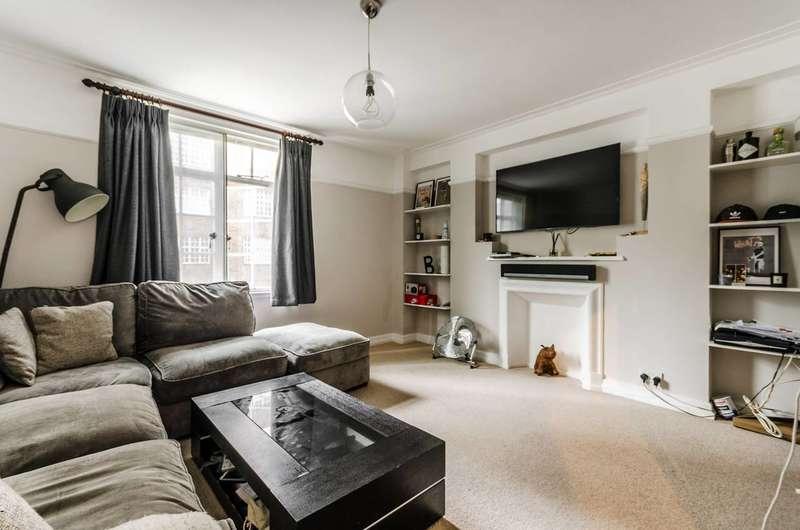 2 Bedrooms Flat for sale in Coram Street, Bloomsbury, WC1N