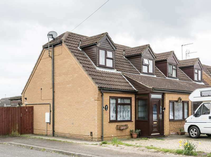 2 Bedrooms Semi Detached House for sale in woodlands court, wisbech, Cambridgeshire, PE13