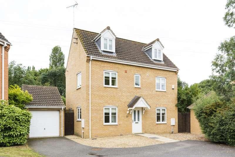 4 Bedrooms Detached House for sale in Boleyn Avenue, Peterborough, Cambridgeshire, PE2