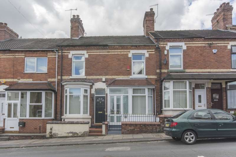 2 Bedrooms Terraced House for sale in Campbell Terrace, Stoke-on-Trent, Staffordshire, ST1
