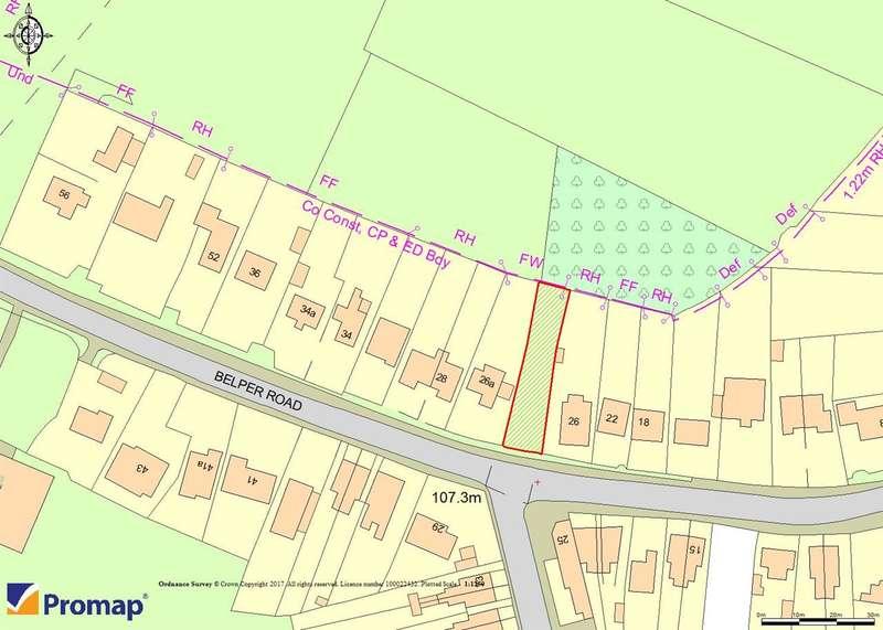 Land Commercial for sale in Belper Road, West Hallam