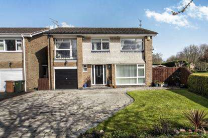 4 Bedrooms Detached House for sale in Dunsley Gardens, Dinnington, Newcastle Upon Tyne, Tyne and Wear, NE13