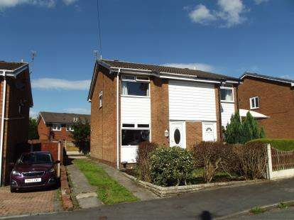 2 Bedrooms Semi Detached House for sale in Beech Grove, Abram, Wigan, Greater Manchester, WN2