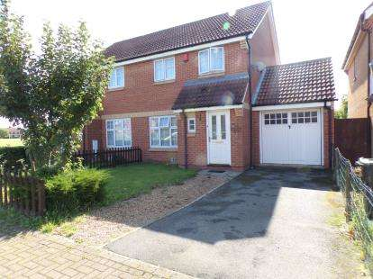3 Bedrooms Semi Detached House for sale in Voyce Way, Bedford, Bedfordshire
