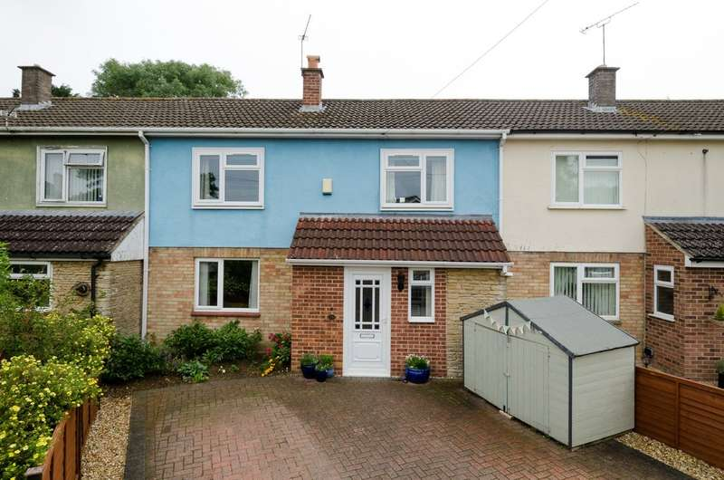 3 Bedrooms Terraced House for sale in Lypiatt Mead, Corsham, Wiltshire