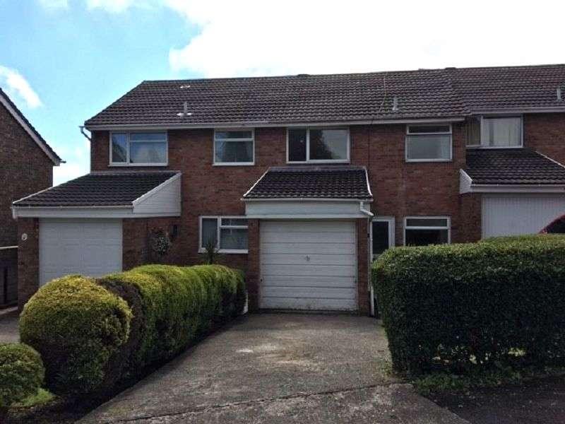 3 Bedrooms Terraced House for sale in Cae Ffynnon , Brackla, Bridgend. CF31 2HG