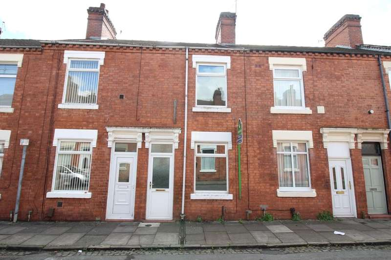 2 Bedrooms Property for sale in Salisbury Street, Tunstall, Stoke-On-Trent, ST6