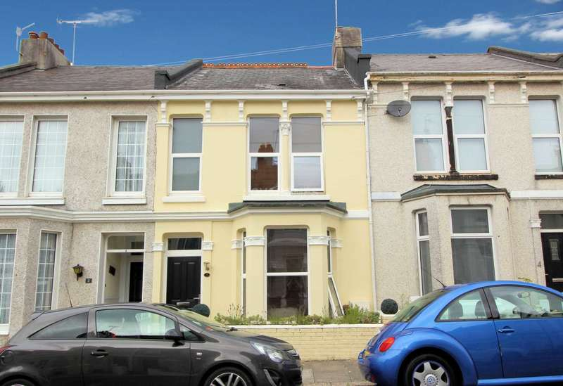 2 Bedrooms Terraced House for sale in First Avenue, The Rectory, PL1 5QF