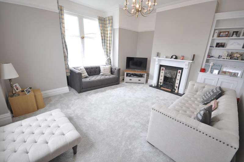 3 Bedrooms End Of Terrace House for sale in Sharman Avenue, St Annes, Lytham St Annes, Lancashire, FY8 3AR
