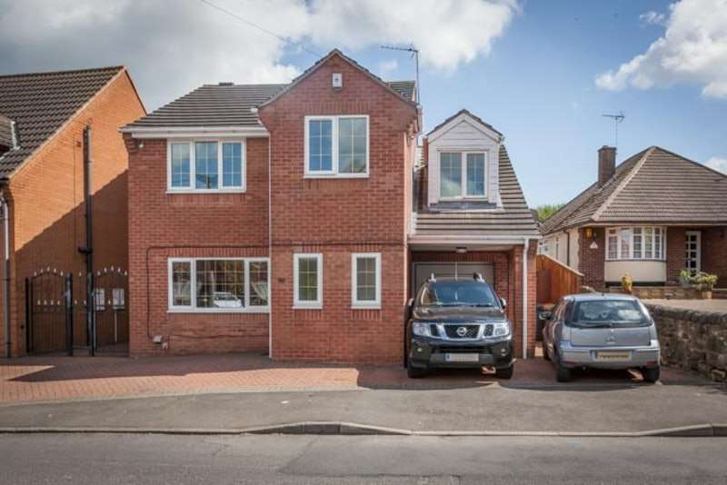 4 Bedrooms Detached House for sale in Forest Road, Sutton-in-Ashfield, Nottinghamshire, NG17