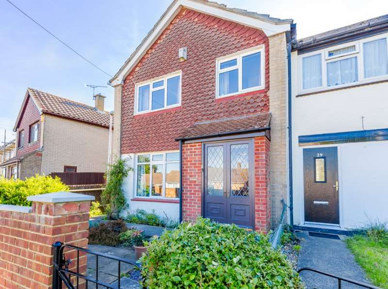 2 Bedrooms End Of Terrace House for sale in Valerian Close, Walderslade, Kent, ME5