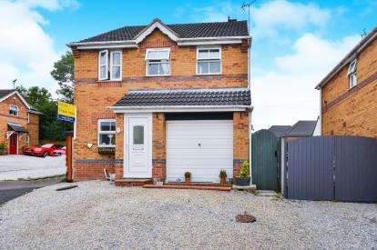3 Bedrooms Detached House for sale in All Saints Court, Huthwaite, Sutton-In-Ashfield, Nottinghamshire