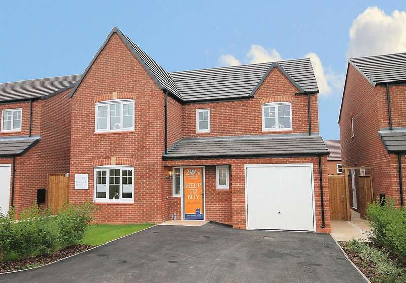4 Bedrooms Detached House for sale in Penmire Rise, Spon Lane, Grendon, Tamworth, CV9 2EX