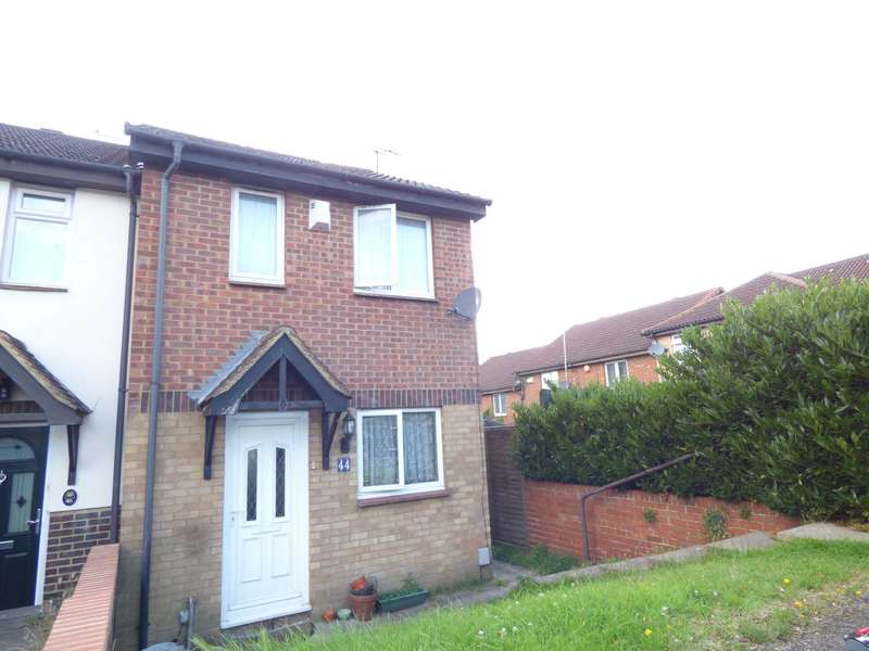 2 Bedrooms End Of Terrace House for sale in Coverdale, Luton
