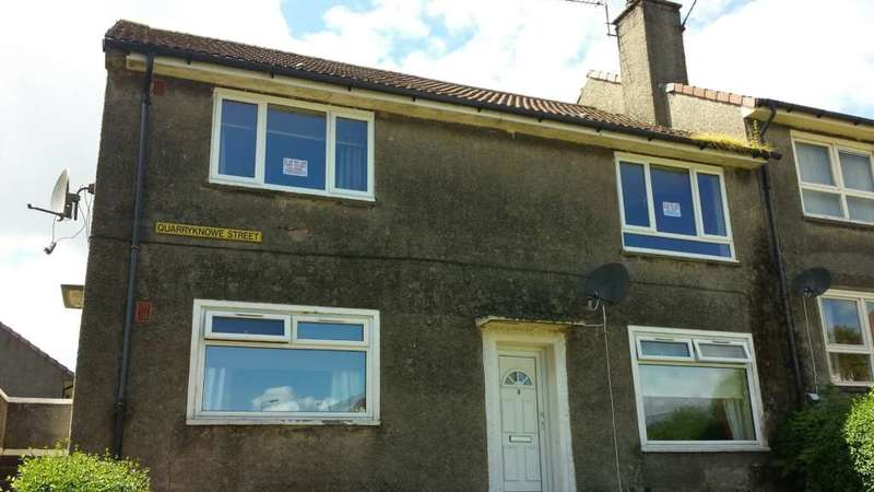 2 Bedrooms Cottage House for rent in Quarryknowe Street, Hardgate, Clydebank
