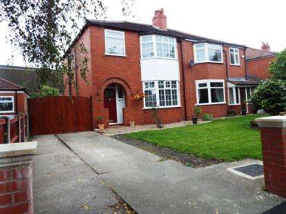 3 Bedrooms Semi Detached House for sale in Edge Fold Road, Worsley, Manchester, Greater Manchester
