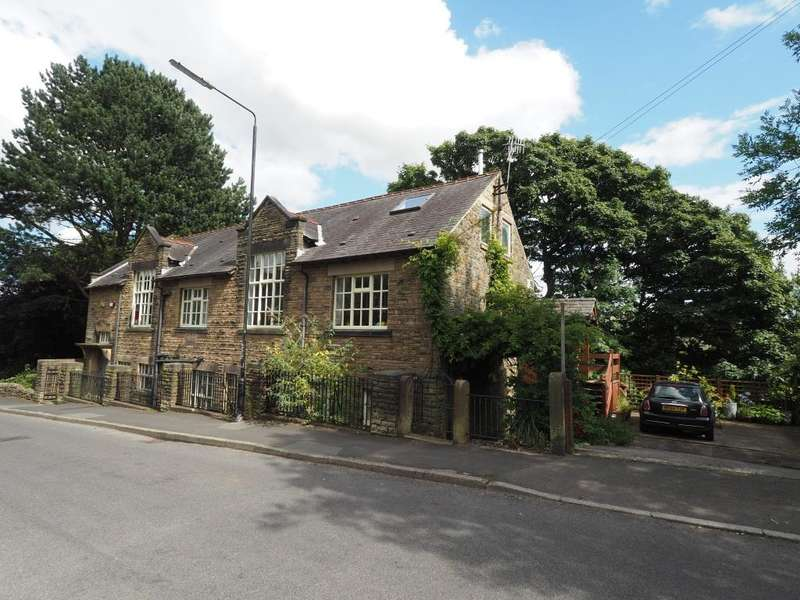 6 Bedrooms Detached House for sale in Spring Bank, New Mills, High Peak, Derbyshire, SK22 4BH