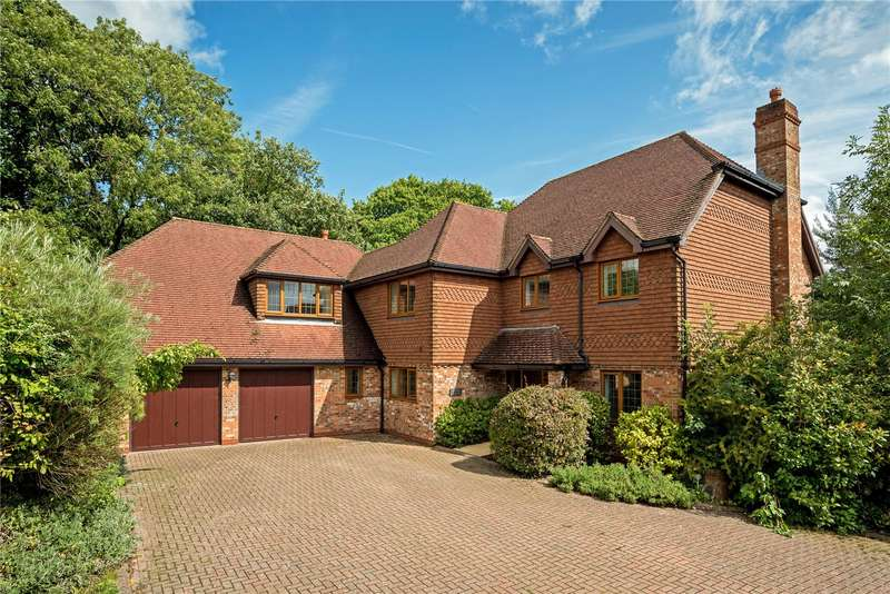5 Bedrooms Detached House for sale in Steeres Hill, Rusper, Horsham, West Sussex, RH12