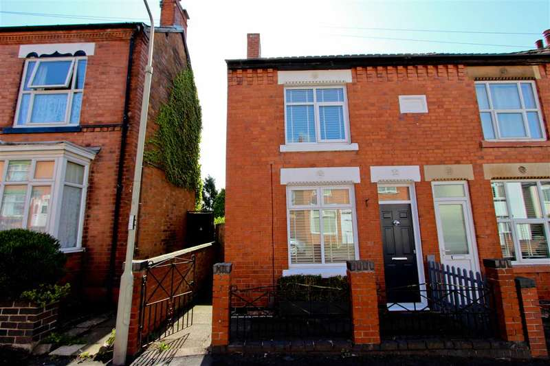 2 Bedrooms Semi Detached House for sale in Forest Gate, Anstey, Leicester