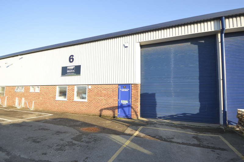Warehouse Commercial for sale in Unit 6, 20 Abingdon Road, Nuffield Industrial Estate, Poole, BH17 0UG