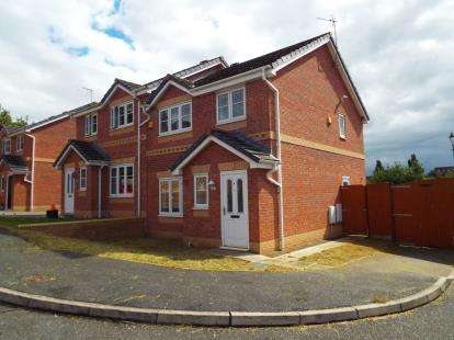 3 Bedrooms Semi Detached House for sale in Redtail Close, Runcorn, Cheshire, WA7