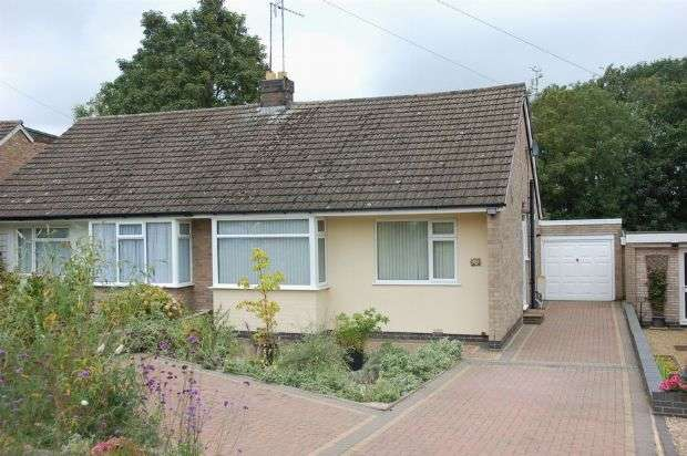 2 Bedrooms Semi Detached Bungalow for sale in Pie Corner, Sywell, Northampton NN6 0AY