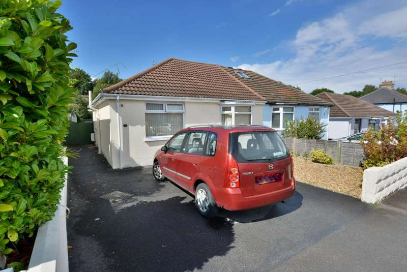 2 Bedrooms Bungalow for sale in Whitecliff, Poole, BH14 8DL
