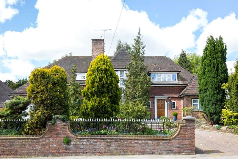 5 Bedrooms Detached House for sale in Oakleigh Park South, Whetstone, London, N20