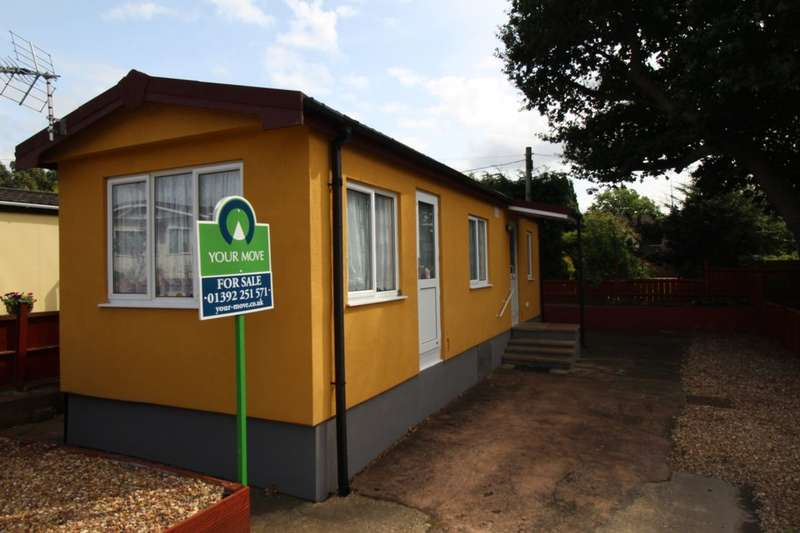 1 Bedroom Detached Bungalow for sale in Marlborough Drive, Ringswell Park, Exeter, EX2