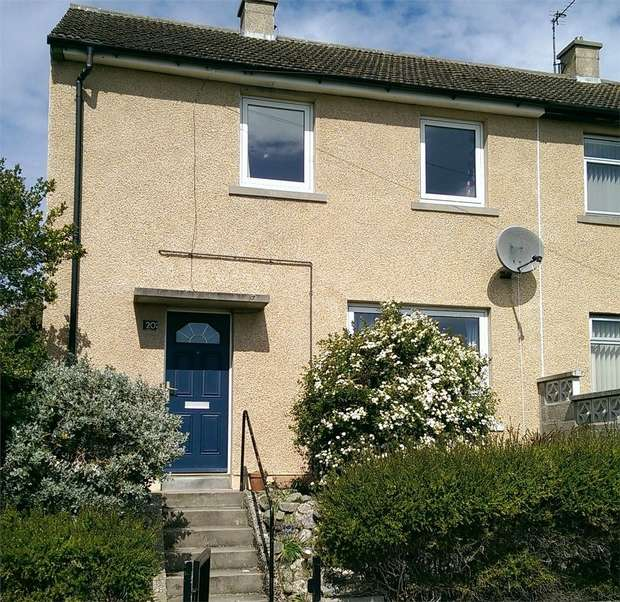 2 Bedrooms Semi Detached House for sale in South Covesea Terrace, Lossiemouth, Moray