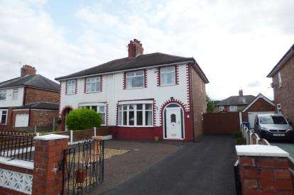 3 Bedrooms Semi Detached House for sale in Marina Avenue, Great Sankey, Warrington, Cheshire