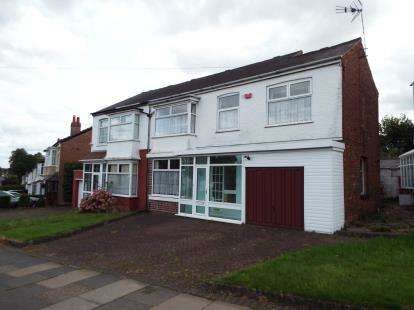 4 Bedrooms Semi Detached House for sale in Gibbins Road, Selly Oak, Birmingham, West Midlands