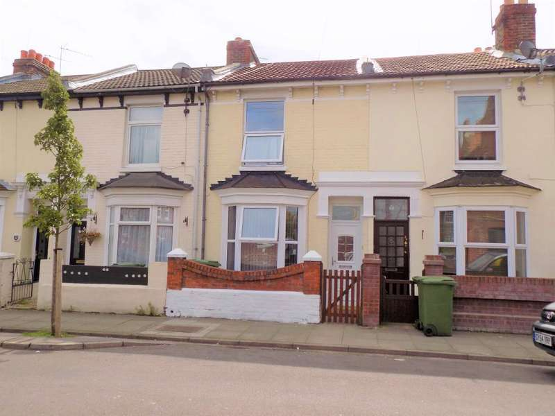 2 Bedrooms Terraced House for sale in Wymering Road, Portsmouth, PO2 7HY