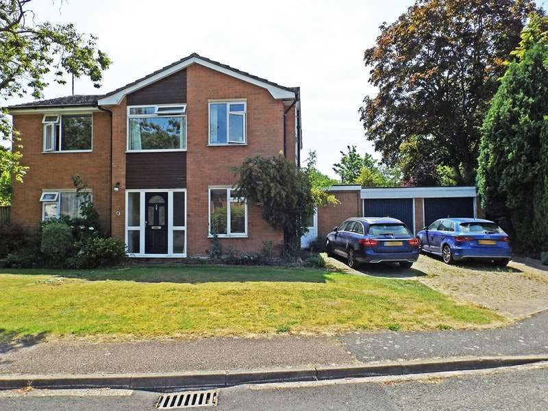 4 Bedrooms Detached House for sale in Huttles Green, Royston, Cambridgeshire, SG8