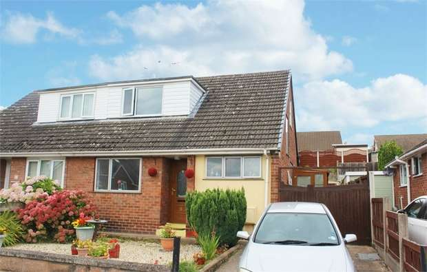3 Bedrooms Semi Detached Bungalow for sale in Princes Drive, Flint