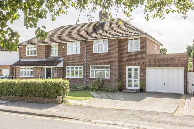 3 Bedrooms Semi Detached House for sale in St Albans Road West, Hatfield, AL10 9RU