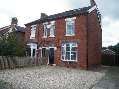 3 Bedrooms Semi Detached House for sale in Chester Road, Winsford, Cheshire, England