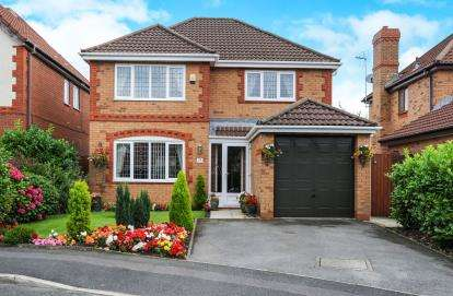 4 Bedrooms Detached House for sale in Fenwick Close, Westhoughton, Bolton, BL5