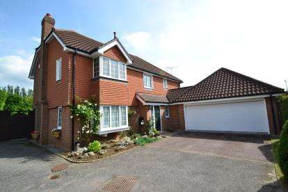 4 Bedrooms Detached House for sale in Sandon, Chelmsford, Essex