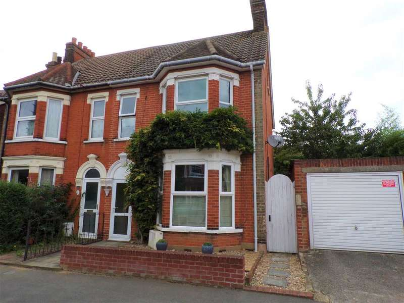 4 Bedrooms Semi Detached House for sale in Bristol Road, Ipswich