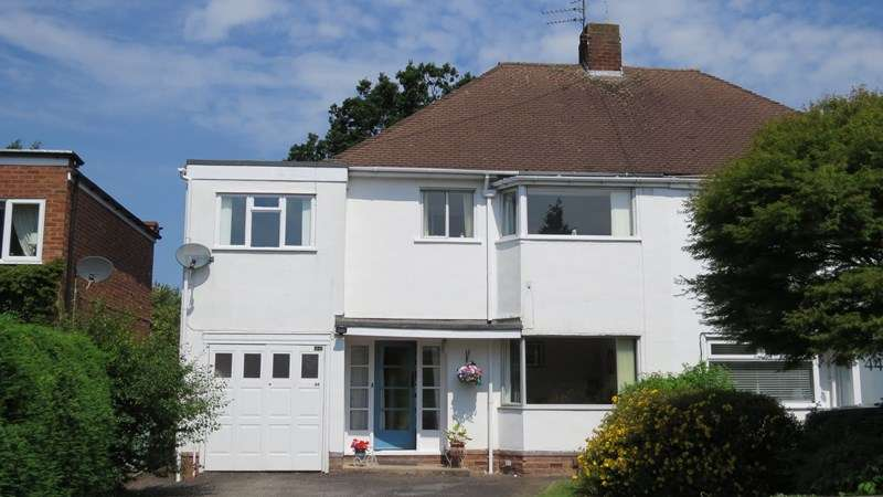 4 Bedrooms Semi Detached House for sale in Uplands Avenue, Finchfield, Wolverhampton