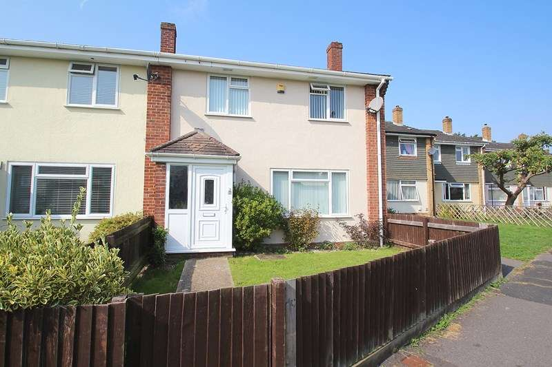 3 Bedrooms End Of Terrace House for sale in Hayes Close, Fareham