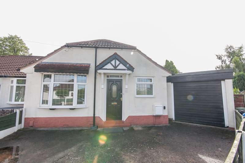 2 Bedrooms Bungalow for sale in Tintern avenue, Urmston, Greater Manchester, M41