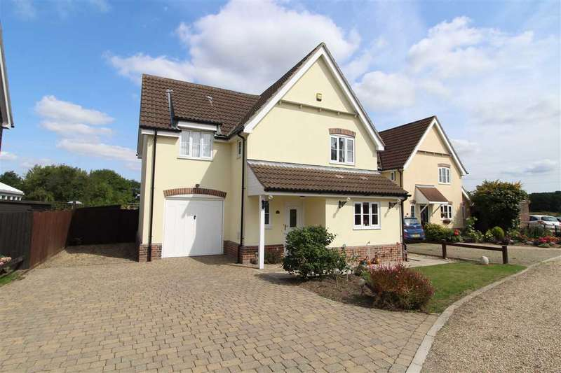4 Bedrooms Detached House for sale in The Parkins, Capel St. Mary, Ipswich