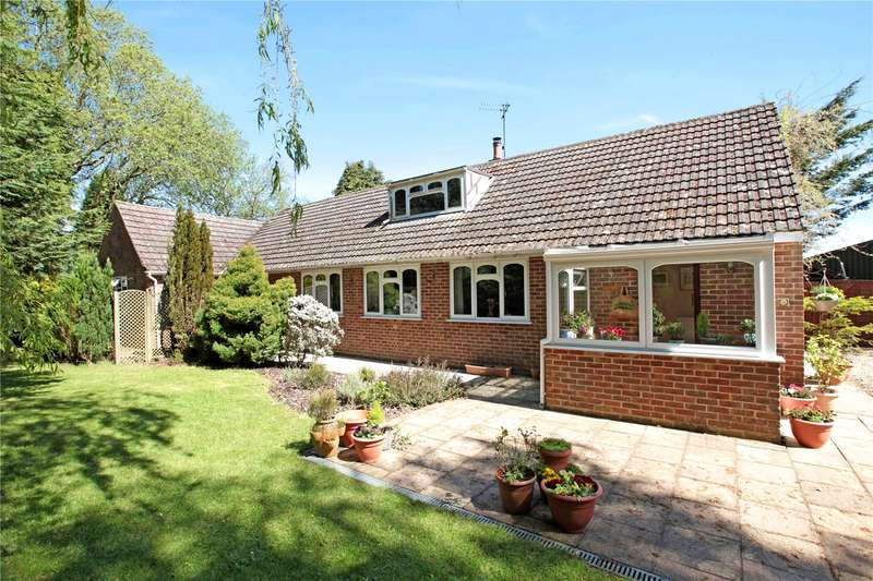 4 Bedrooms Detached Bungalow for sale in Station Road, Semley, Shaftesbury, Wiltshire, SP7
