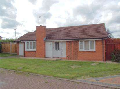 2 Bedrooms Bungalow for sale in Peregrine Rise, Leicester, Leicestershire